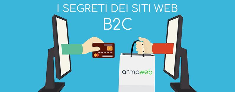 Sviluppo siti web B2C - Siti web B2C efficaci