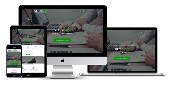 Realizzazione siti web aziendali - Sito aziendale responsive e moderno - immagine